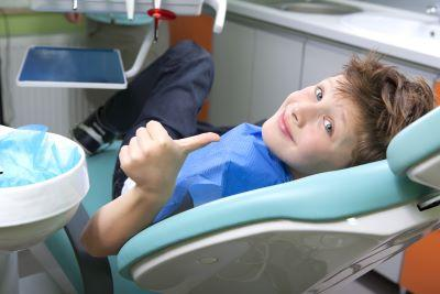 Dental Cleanings in Lafayette | Happy Young Patient