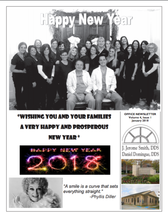 January Patient Newsletter 2018