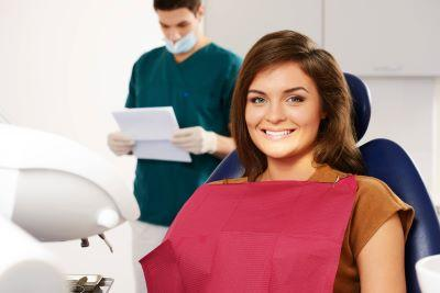 Dental Cleanings and Exams in Lafayette | Patient Preparing for Exam